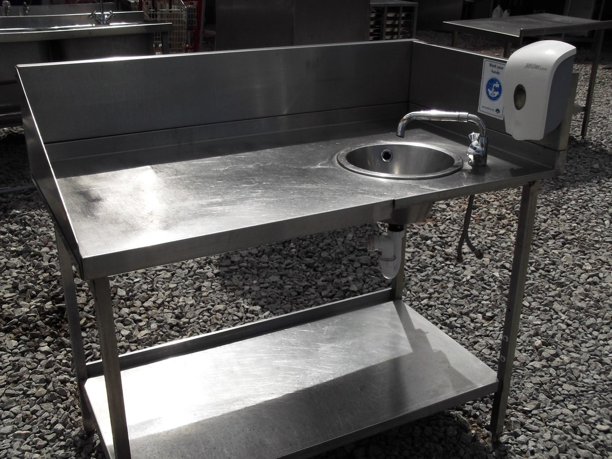 Stainless Sink Table : ... Somerset Stainless Steel Table/Sink (3101) - Bridgwater, Somerset