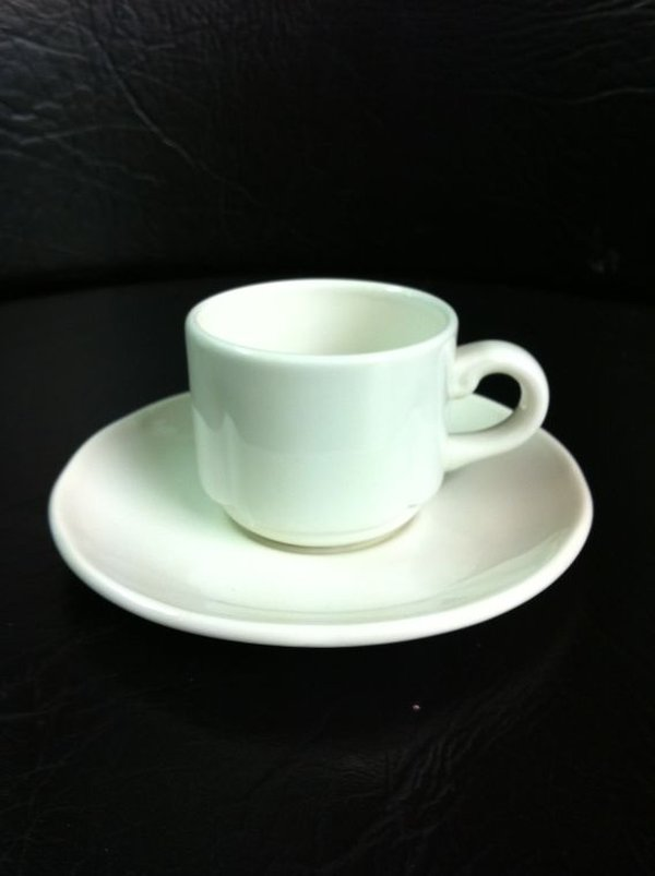 Dudson Sonata Cup 3oz & Saucer for sale