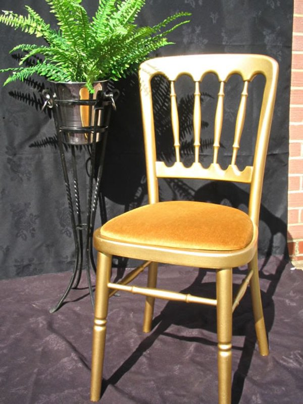 28 x Gold Banqueting Chairs