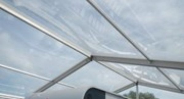 Clear PVC Roof