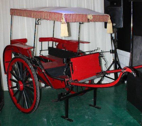 Antique Rickshaw / Bali Cart