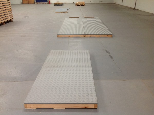 Used Chequer Plate Flooring For Sale