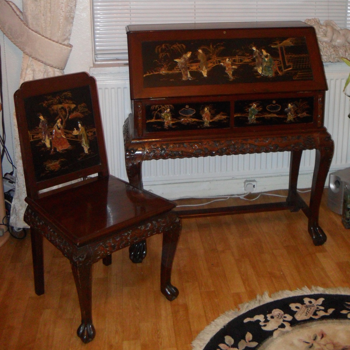 Secondhand Chairs And Tables Desks And Bureaus Antique Oriental Furniture