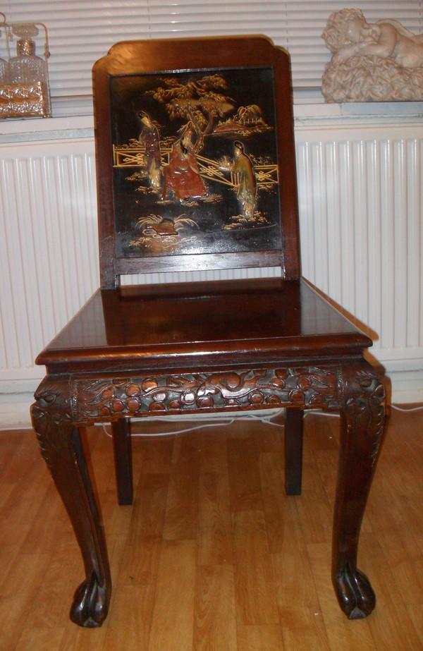 Antique Oriental Chair