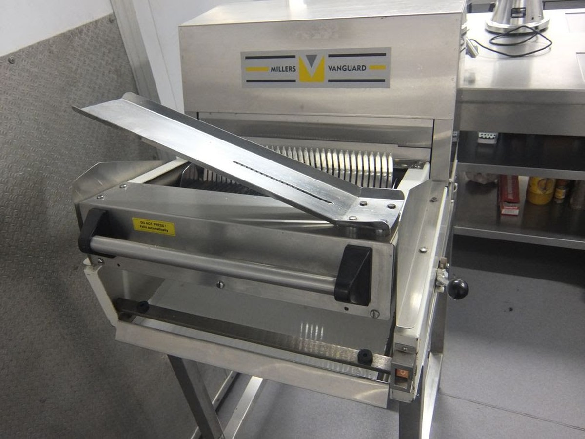 Secondhand Catering Equipment Bread Slicers Millers