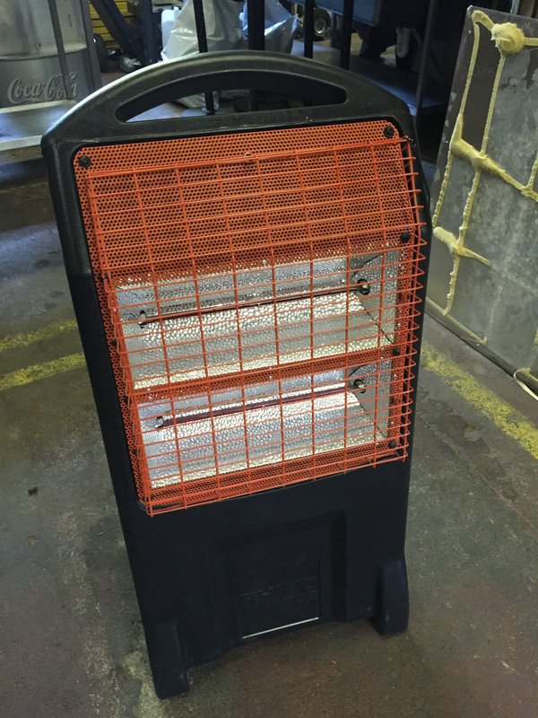 Rihno TQ 3 Thermo quarts heater