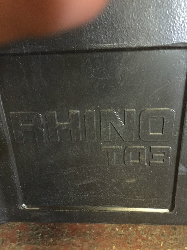 Used Once Rihno TQ 3 Thermo quarts heater