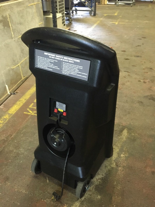 Used Rihno TQ 3 Thermo quarts heater