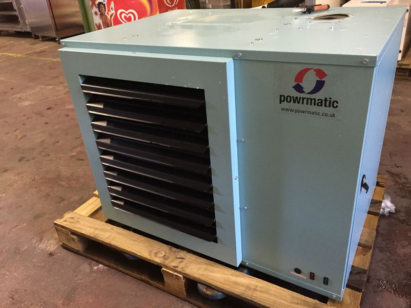 Powrmatic space heater Space heating options