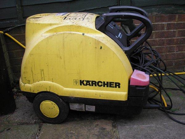HDS 551C Karcher Hot Washer