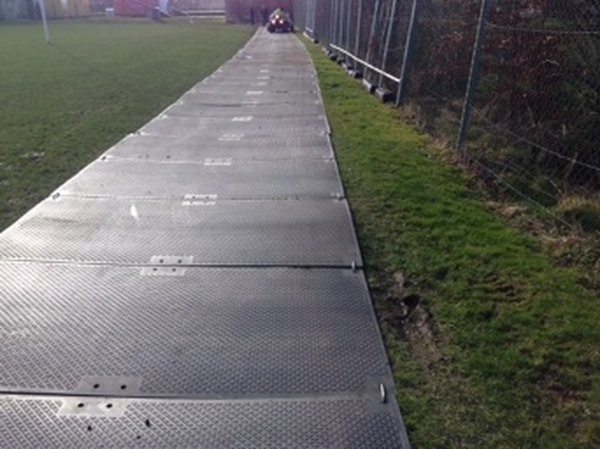 Plastic Ground Protection Mats