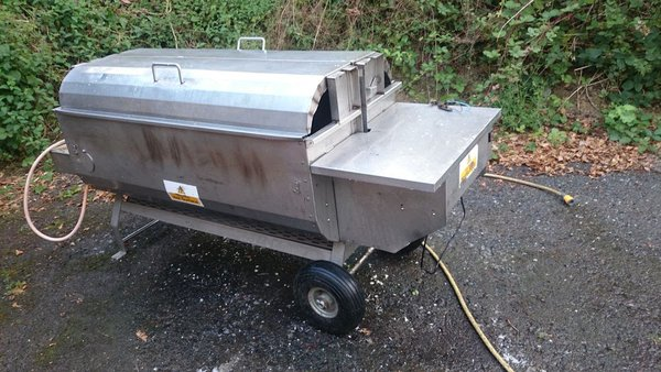 LPG Hog roast machine