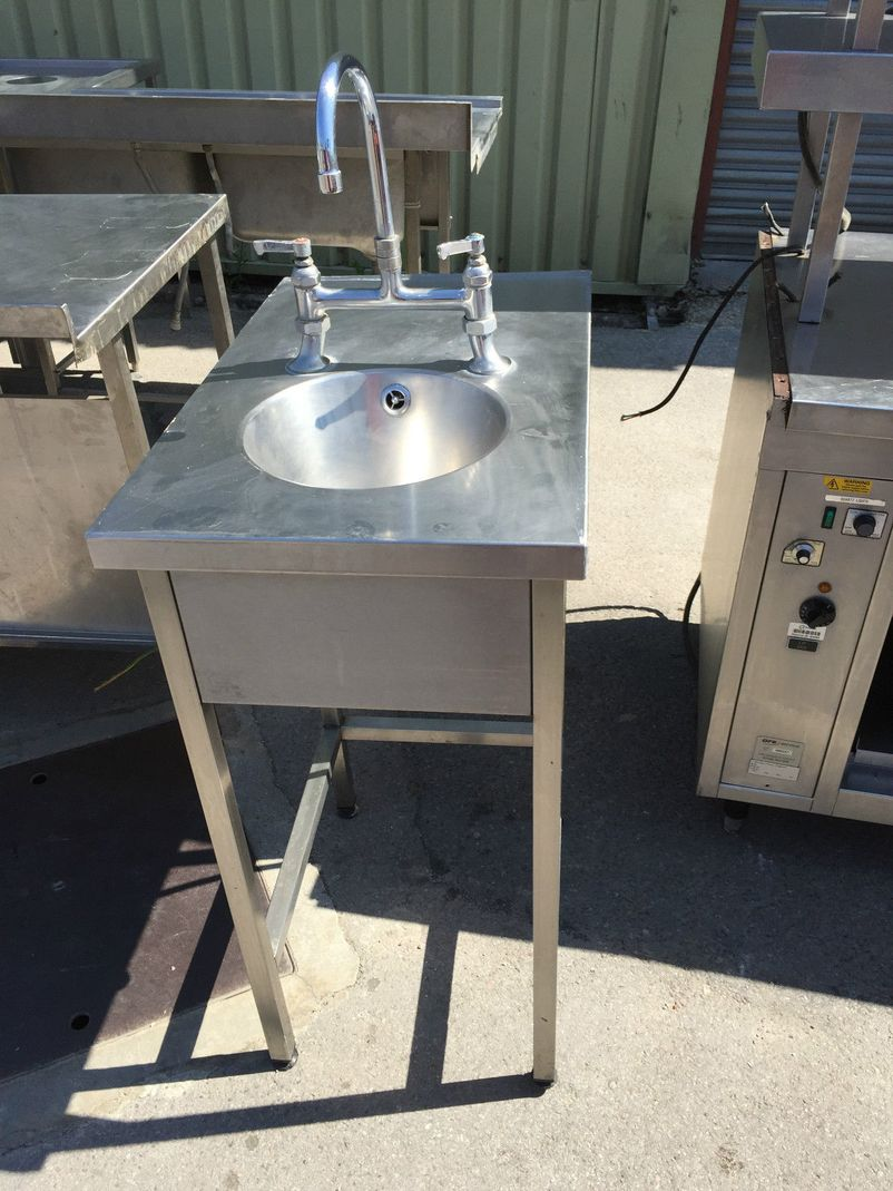 ... Commercial Stainless Steel Stand Alone Hand Wash Sink - West Sussex