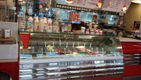 Ice Cream Display Cabinet and Tekna 48 Napoli Tin Freezer - London