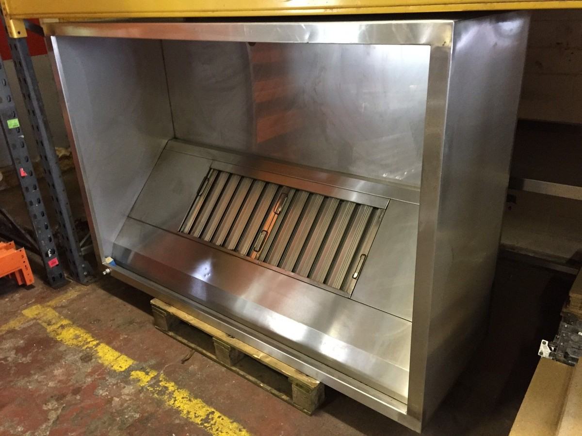 Extraction Hood Canopy for sale & Secondhand Catering Equipment | Canopies and Extractor Systems