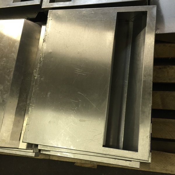 Sold Commercial Stainless Steel Extractor Hood Canopy Filter Baffles - West Sussex & Secondhand Catering Equipment | Canopies and Extractor Systems