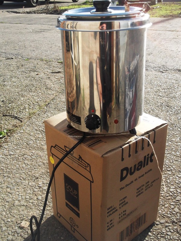 New Soup Kettle (3205)