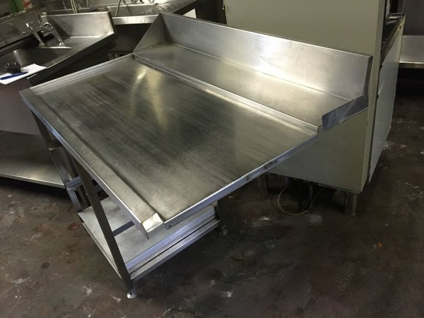 dish washer table bench