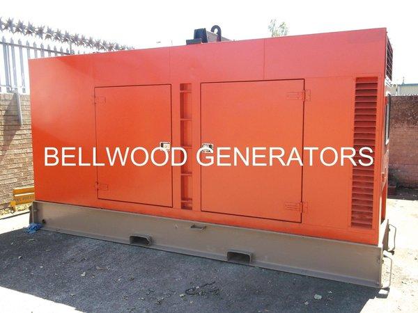 Iveco powered 200Kva silent diesel generator