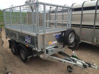 Ifor Williams - 8ft Twin Axle Trailer Tipping Trailer