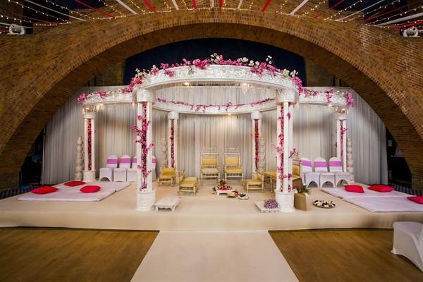 Mandap Wedding pillars