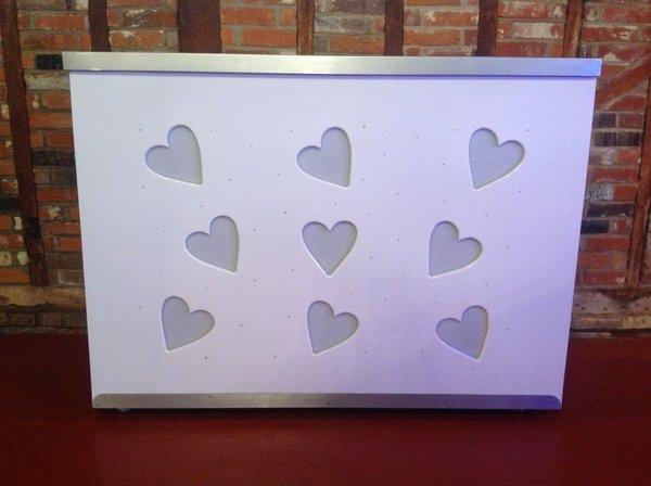 5ft Mobile Heart Bar