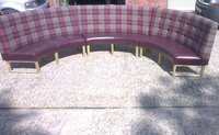Brand New Curved Fitted Seating Unit for sale