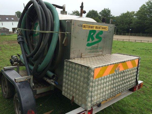 Toilet Vacuum trailer