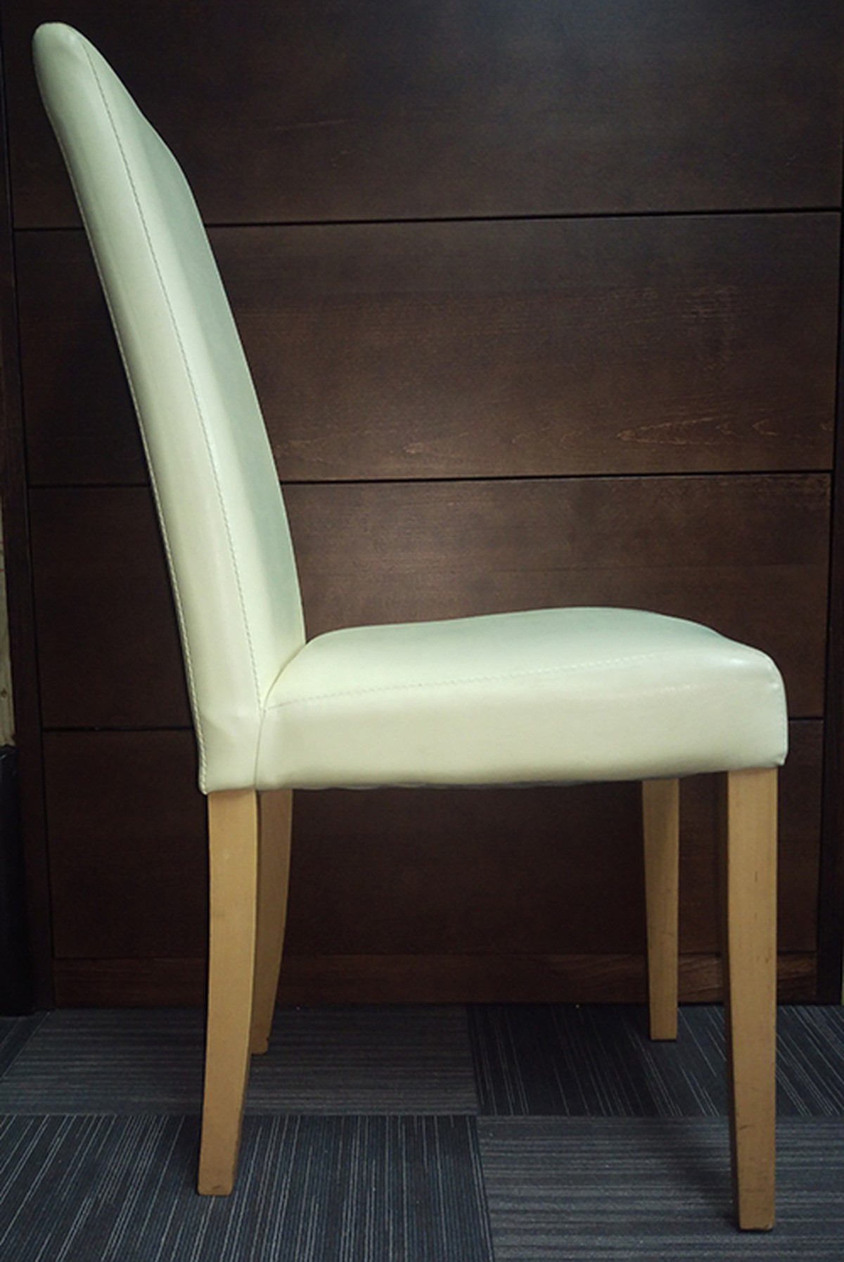 second hand cream dinning chairs for sale