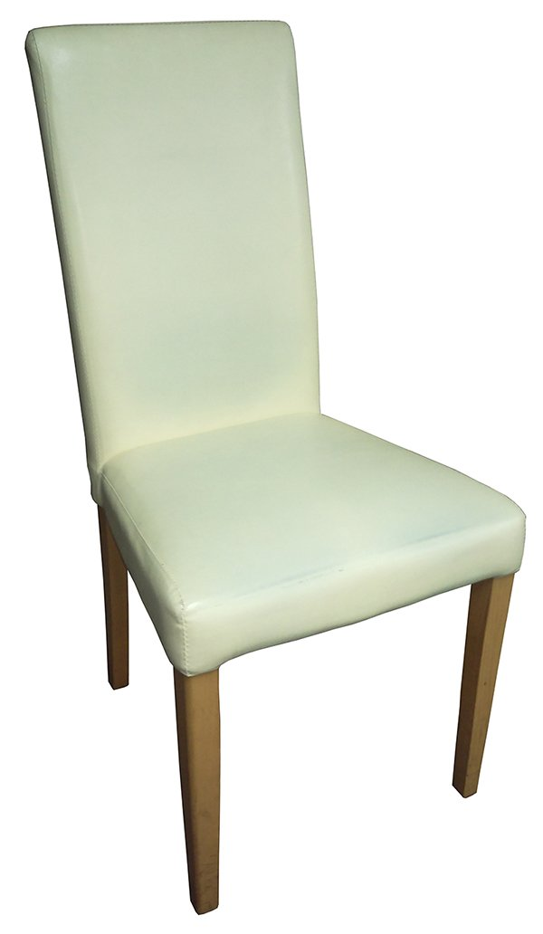 Cream Leather Chairs for sale