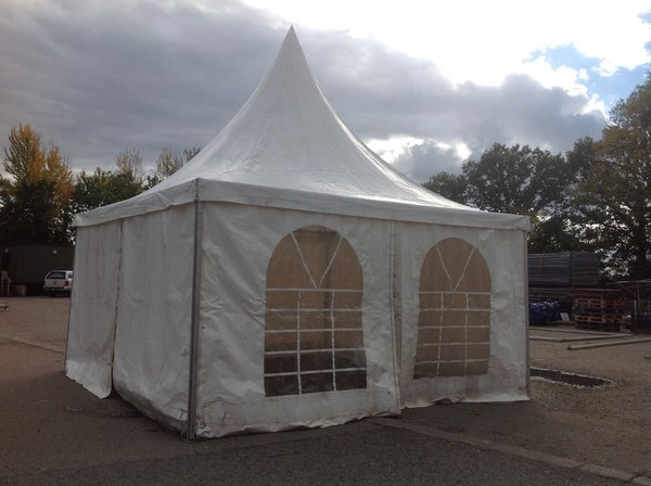 6m x 6m Chinese hat marquee