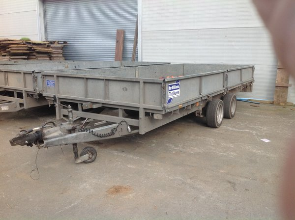 Ifor Williams Drop Side Trailer