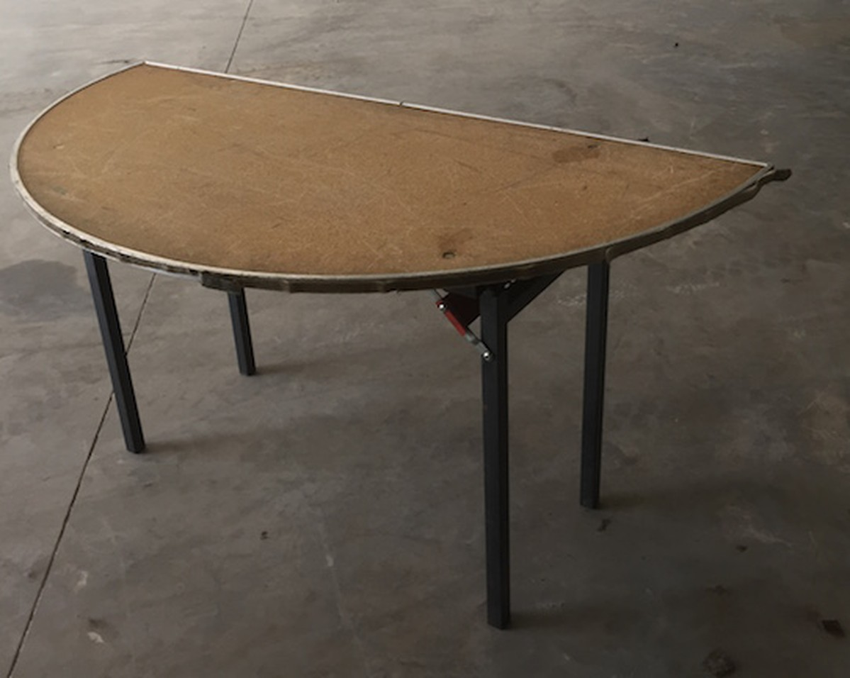 Secondhand Hotel Furniture Round Folding Tables 5