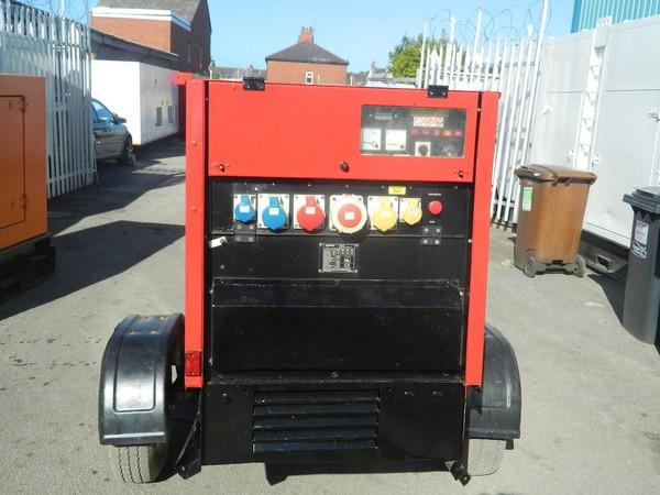 2009 30kva Perkins Diesel Generator towable