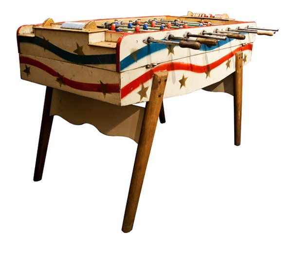 Vintage Bar Football Table