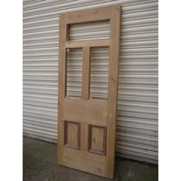 Restored Victorian Edwardian 5 Panel Unglazed Door
