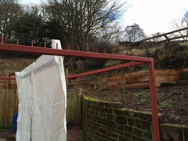 Clearspan Marquee 3m Wall Drying Rack