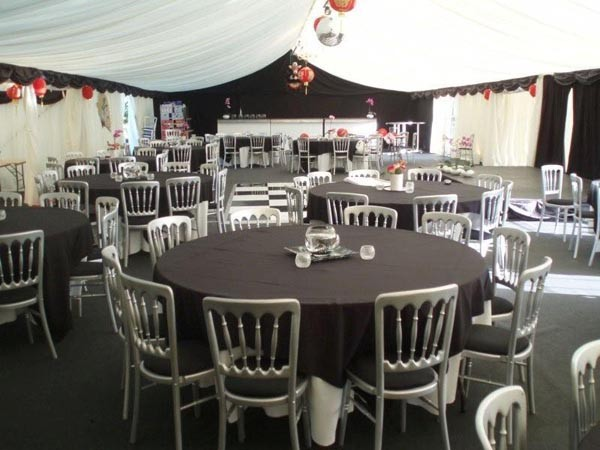 Wedding and party marquee business