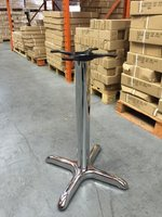 Chrome Antonio Table Base
