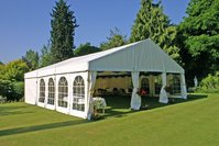 9m x 9m framed marquee for sale