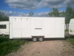 Large Second Hand Exhibition Trailer