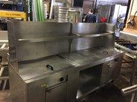 Oliver Toms Double Range Gas Fryer