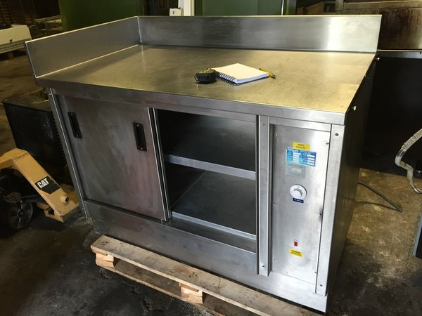 Stangard Stainless Steel Hot Cupboard, West- Sussex