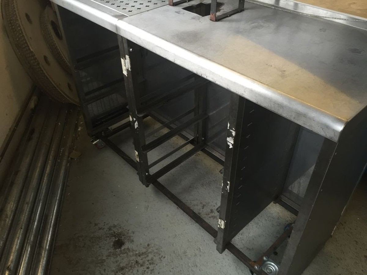 Secondhand chairs and tables bar units stainless