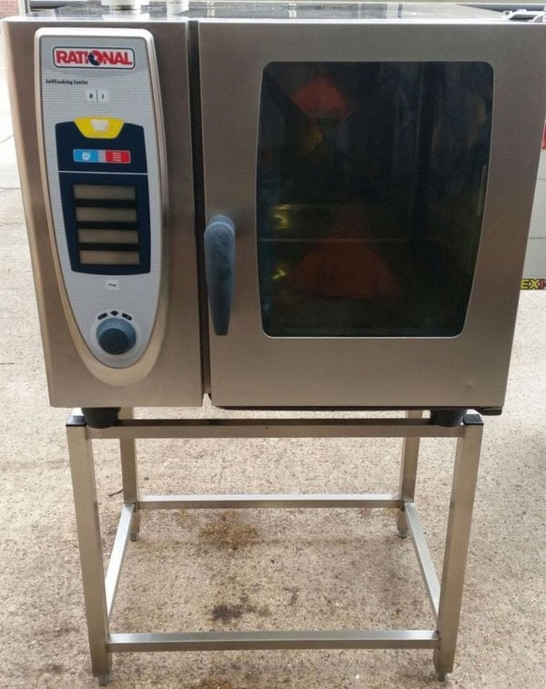Rational SCC 6 Grid, 3 Phase Electric Combi Oven