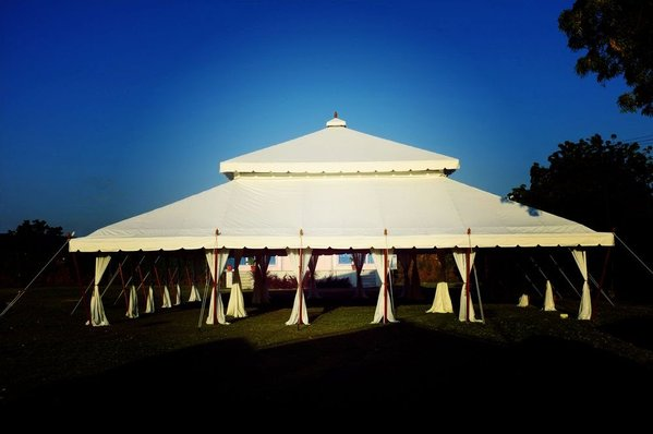 Sold Mughal Tent & Curlew - SecondHand Marquees | Unusual Marquees