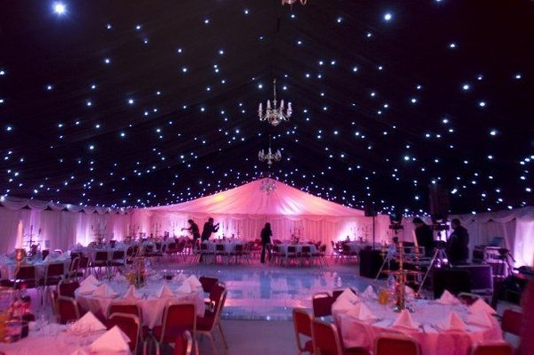 Secondhand Sound And Lighting Equipment Drape And Star