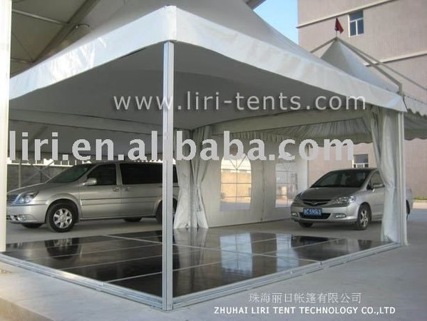 6m x 6m framed marquees
