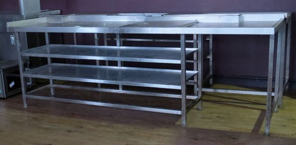 Stainless steel under bar counter (79)