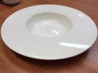 Dudson fine china precision deep plate / pasta plate
